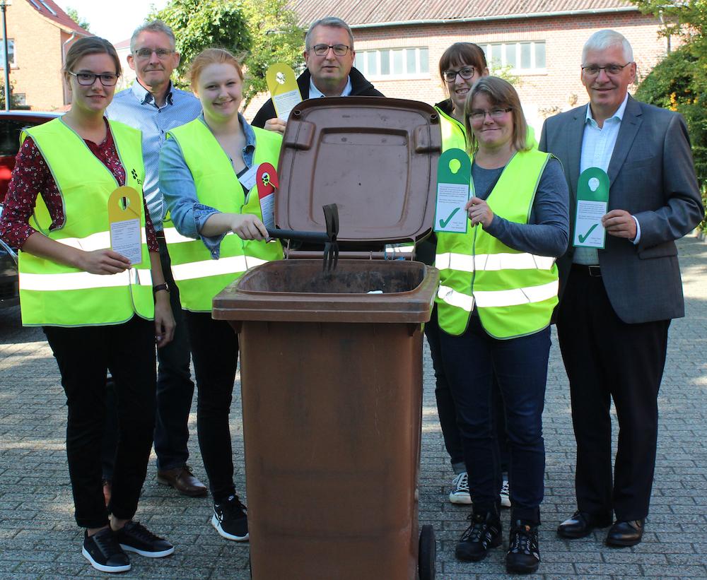 Auftakt Biotonnen-Aktion Sassenberg 2019