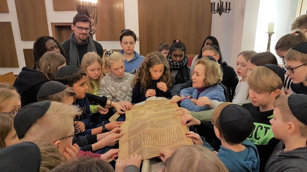Besuch Synagoge
