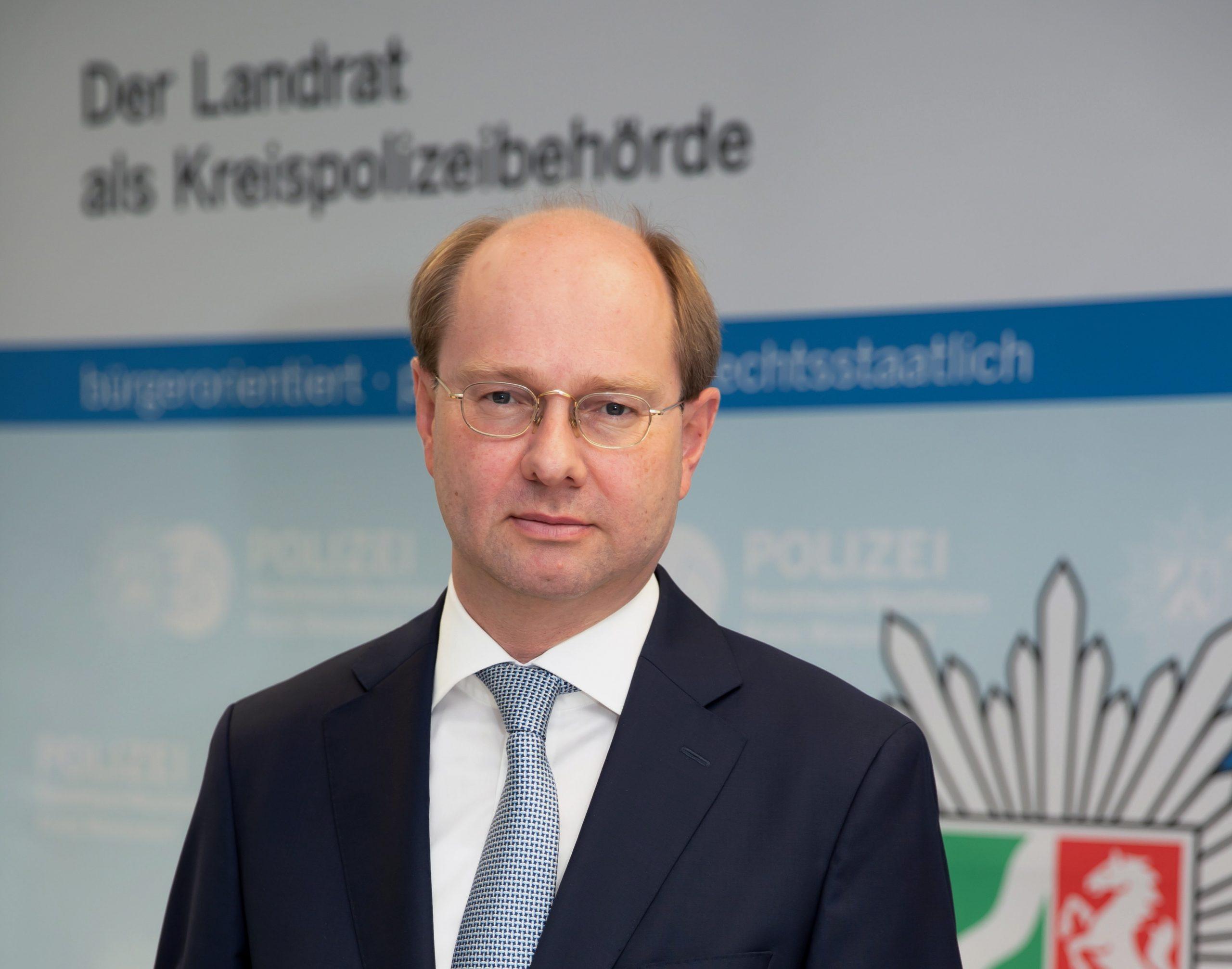 Dr. Olaf Gericke als Kreispolizeibehörde