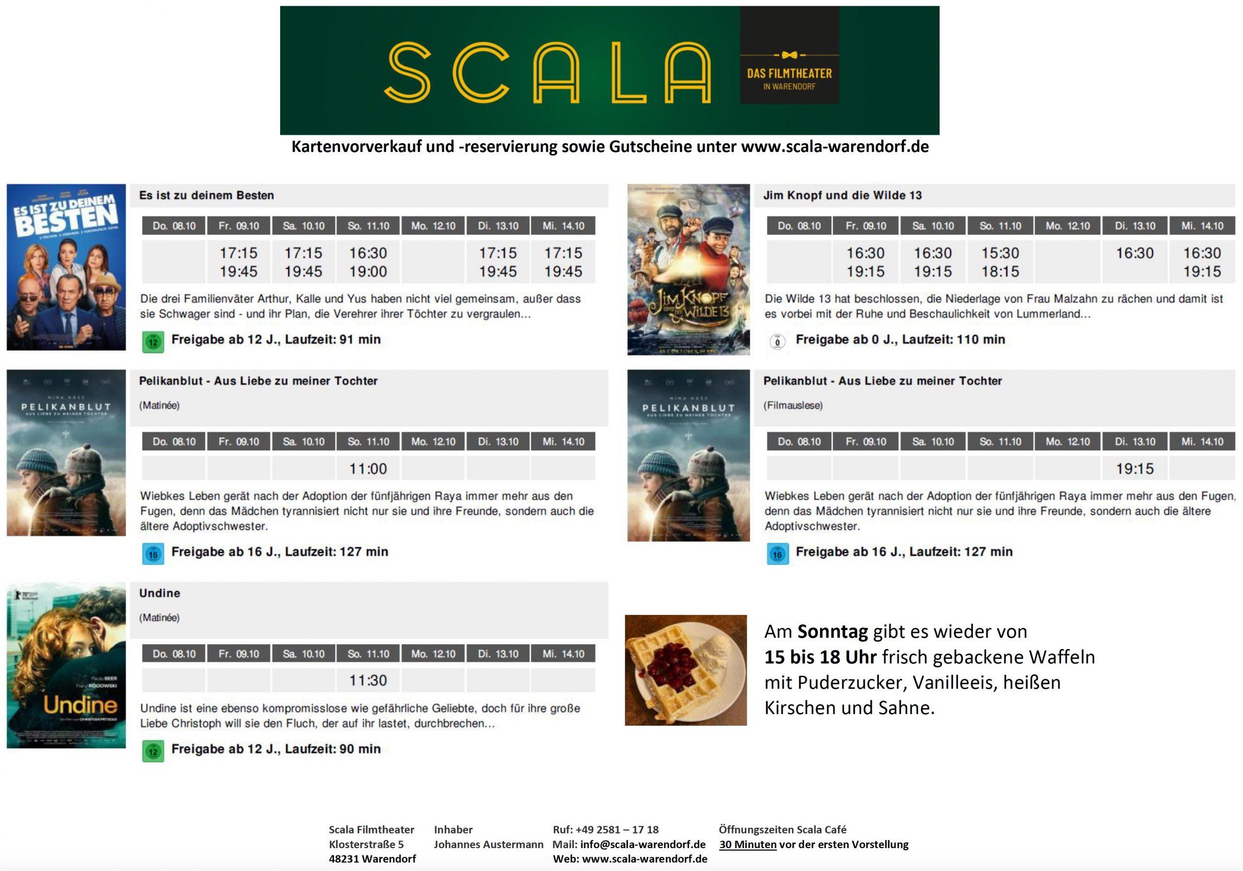 Scala Kino Lüneburg Programm